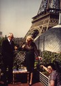 Malcolm Forbes at Eiffel Tower
