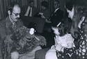 Cookie Monster and creator Frank OZ