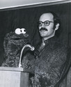 Frank Oz at Cookie Monster debut
