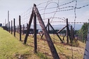 Barbed wire perimeter at KLNa