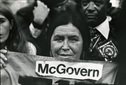 McGovern Indian Woman Supporter 1972